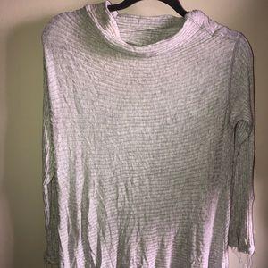 FP Light Grey knit long-sleeve